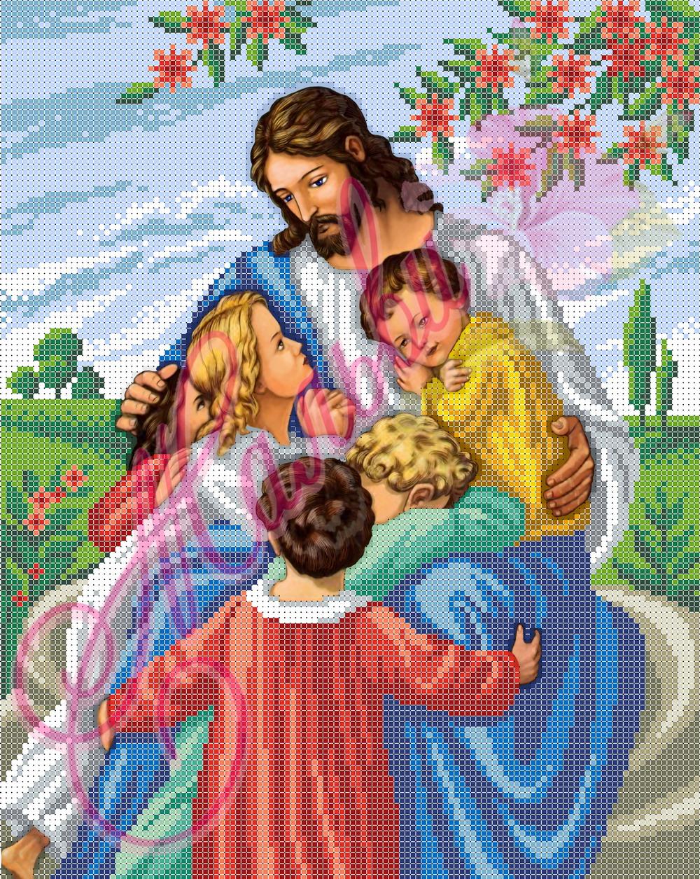 Ісус та діти А3Р-008 ed2000d6a5505